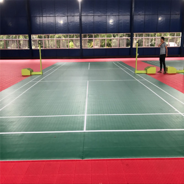 PVC Indoor Carpet Tiles Court Flooring