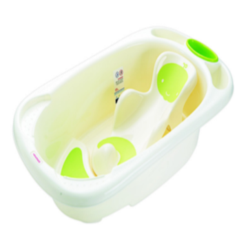 Baby Plastic Bathtub With Bath Bed L