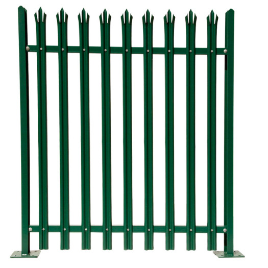 High quality W type D type palisade fence