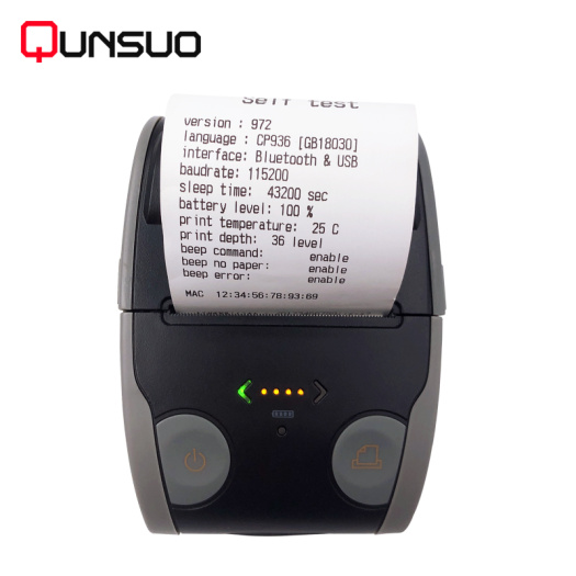 Pos printer bluetooth thermal 58mm wireless receipt printer