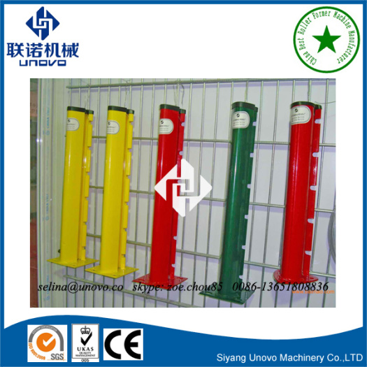 strong type peach shape metal fence post