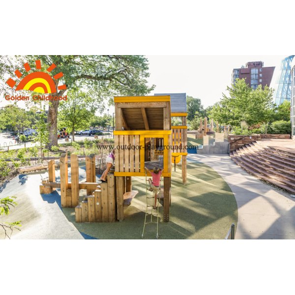 Environment HPL Playground Tower Outdoor