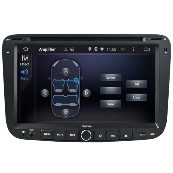 Car Multimedia Player For Geely Emgrand EC7 2012