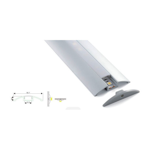 Suspended Modern Linear Light