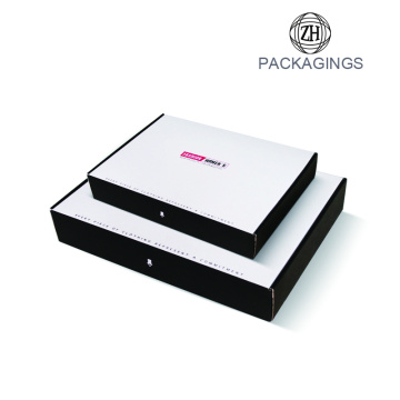 Wholesale white foldable shipping box package