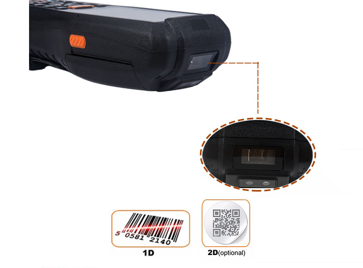 industrial pda uhf scanner