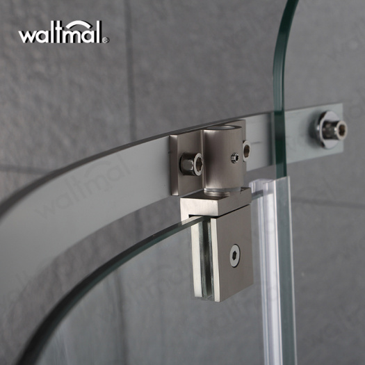 Sector Shape Hinge Swing Door Shower Room