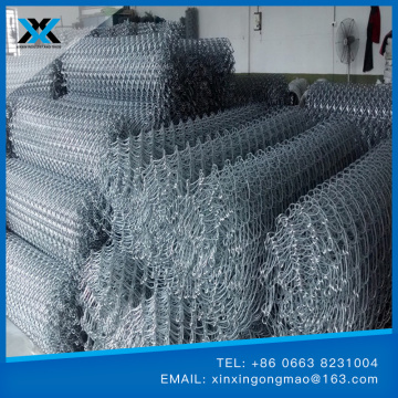 Stainless Steel Diamond Mesh Galvanized Or PVC