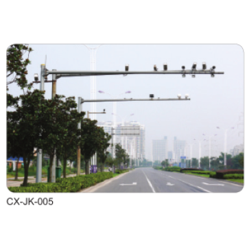 Traffic Monitoring Street Lamp