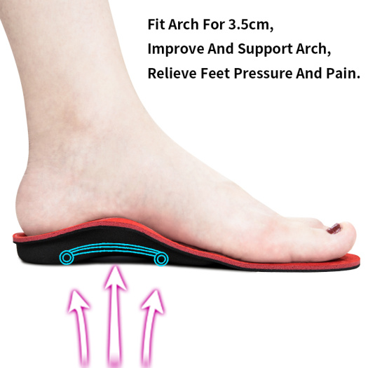 Arch Support Inserts Orthopedic Shoes Insoles Pad