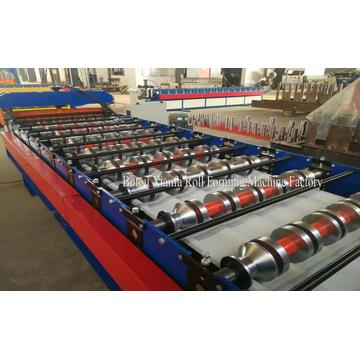 roof trapezoidal panel roll forming machine