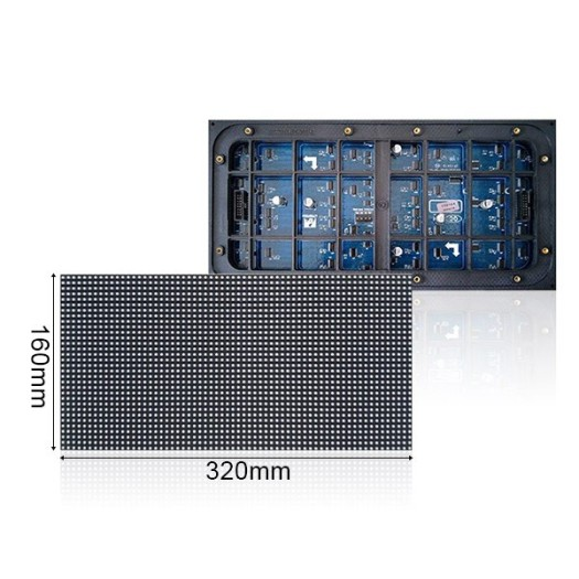 PH10 Outdoor LED Display Module with 320x160mm