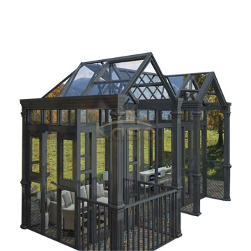 Commercial Greenhouse Sale Glass House Cheap Sunroom Kit