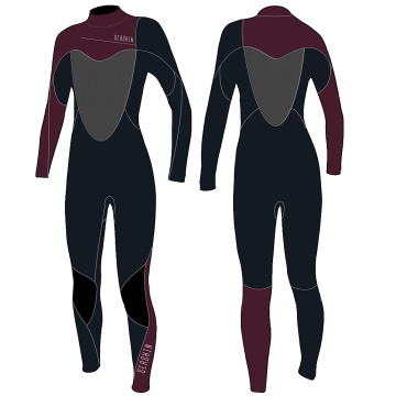 Seaskin Womens 4/3mm Stretch Steamer Wetsuit