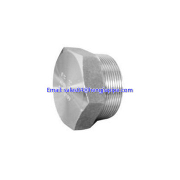 forged carbon steel threaded steel plug