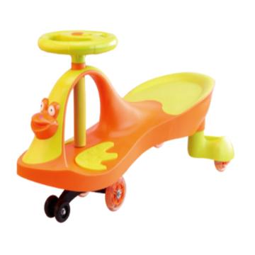 Kids Outdoor Entertaining Twist Car With Music