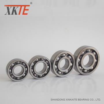 Conveyor Guide Rollers Parts Deep Groove Ball Bearing