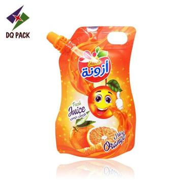 Special Shape Juice Pouch With Spout