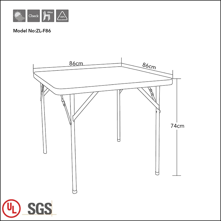 Outdoor Dining Plastic Table