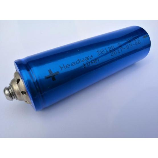 Rechargeable LiFePO4 HW38120S-10Ah 3.2V for Data Center