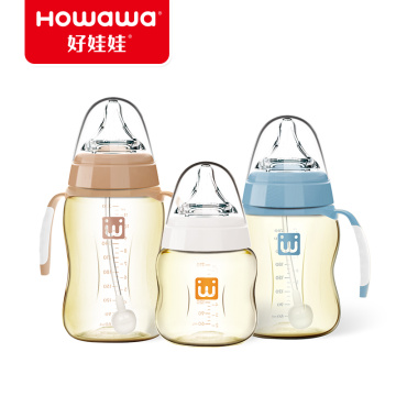 Infant Wide Neck Feeding Bottle PPSU 260ml