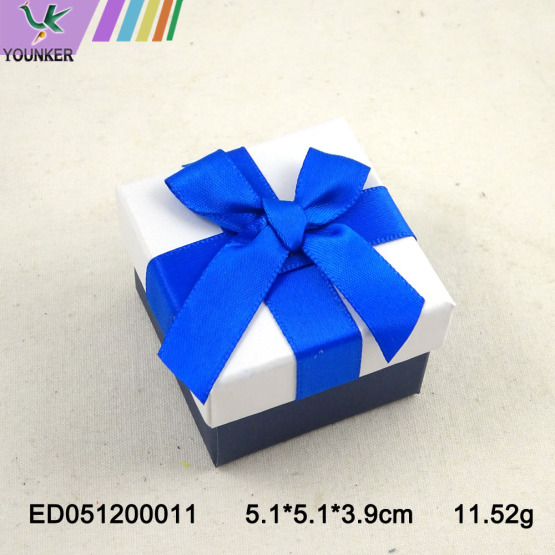 Elegant Wedding Jewelry Ring Boxes Gift Packing Custom Size