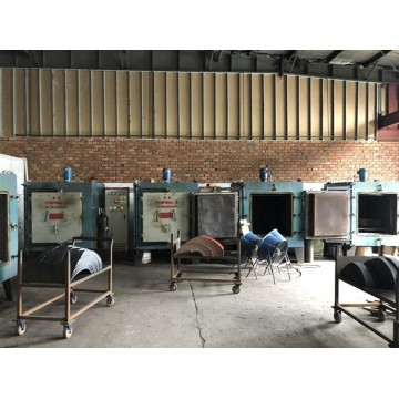 Medium temperature chamber annealing furnace