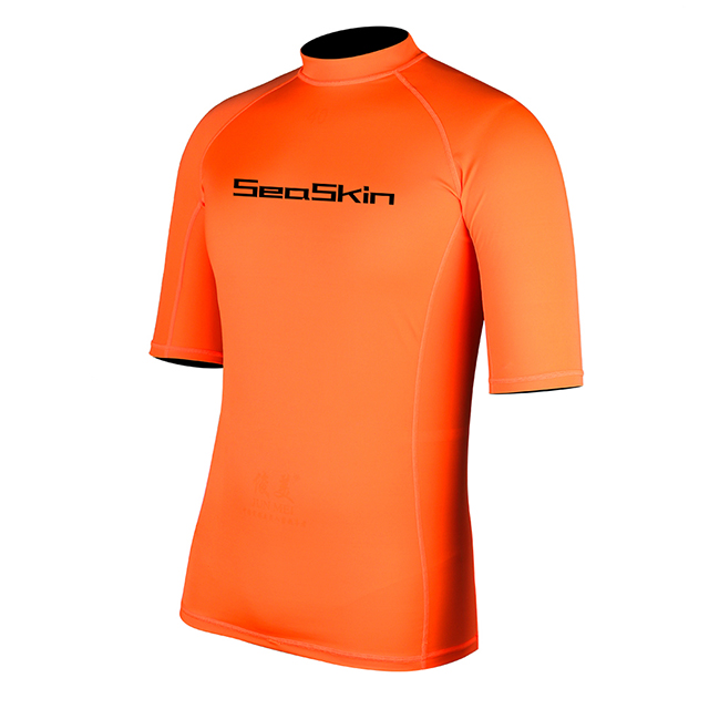 Seaskin Mens Short Sleeve Rashguard