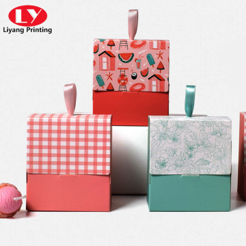 Paper gift high quality candy sweet packaging box