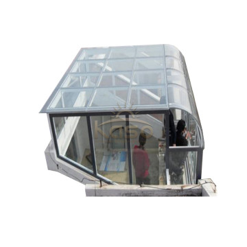 Sliding Enclosure Kit Cover Glasshouse Aluminum Patio Roof