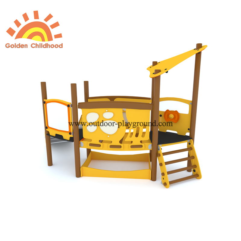 Small Hpl Outdoor Playground Kids Structure