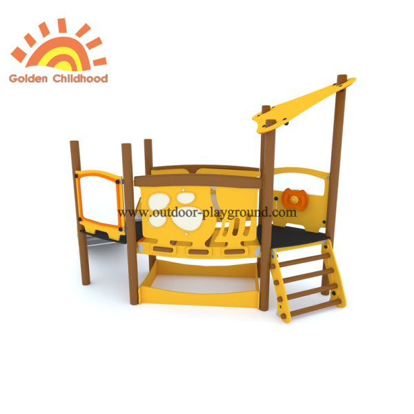 Small HPL Outdoor Playground Kids Structure For Sale