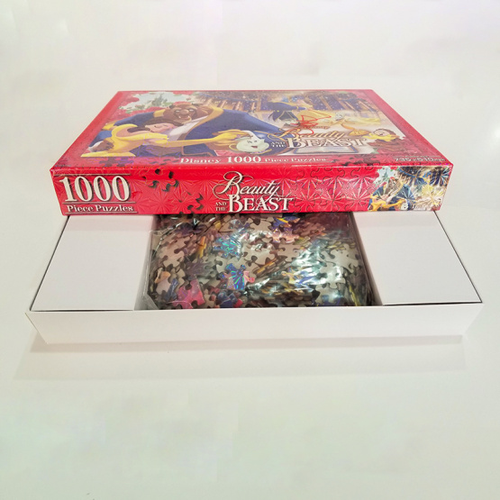 custom 1000pcs cardboard 3d puzzles for adults