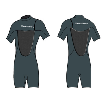 Seakin 2mm Zipperless Shorty Wetsuit For Men