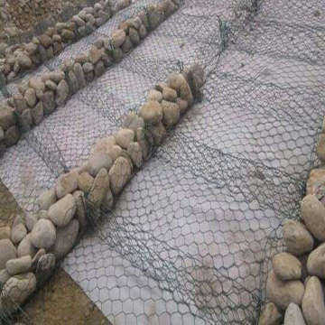Pvc Coated Hexagonal  Gabion Mesh
