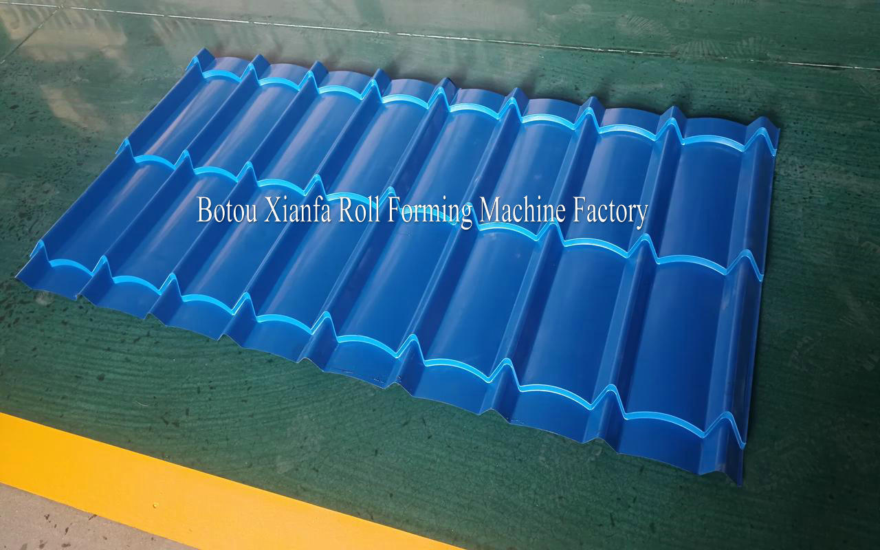 Glazed Tiles Roof Machine