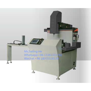 CNC Aluminum Curtain Wall Drilling Milling Machine