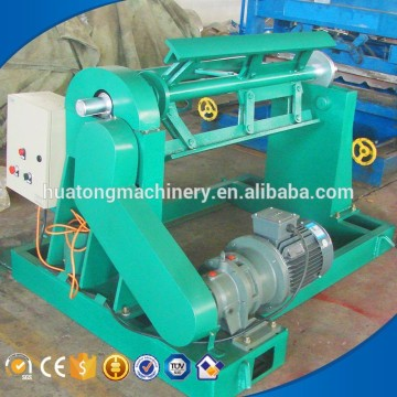 Easy operation one year warranty electric 10 ton decoiler