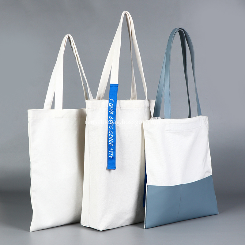 Tote Shopping Bag Cotton Canvas