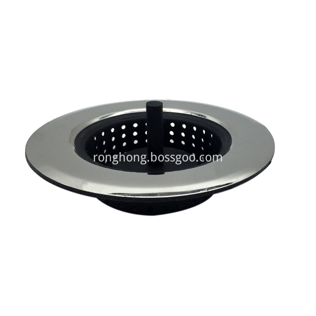 Sink Strainer Fits All Standard Sink Openings 1
