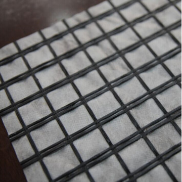 Excellent Fiberglass Geogrid Composite With Geotextile
