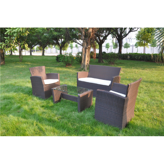 Patio rattan woven furniture outdoor sofa
