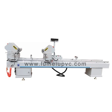 Two Head Cutting Machine For Aluminum Upvc
