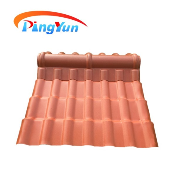heat insulation Synthetic Terracotta Roof Tile
