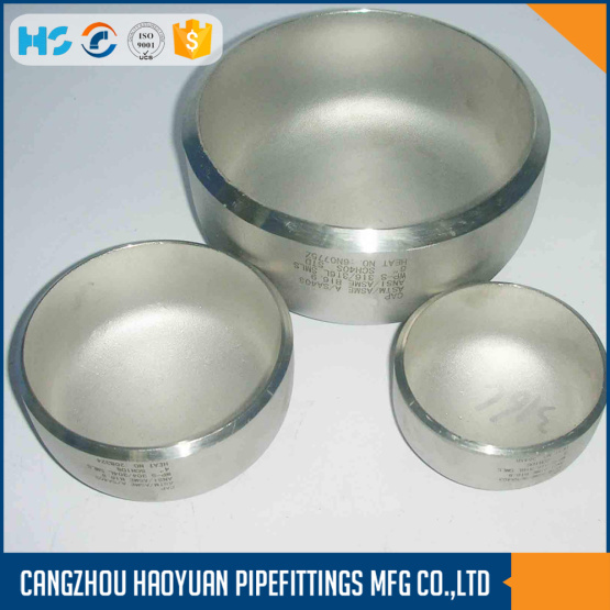Stainless Alloy Steel Welding End Cap