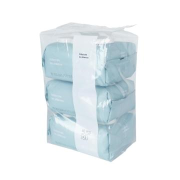 100% Bamboo Biodegradable Super-Soft Cleaning Baby Wet Wipe