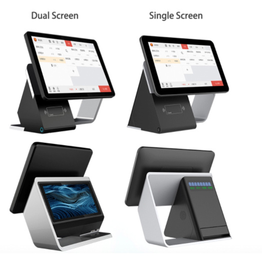 17 inch dual screens cash register pos system
