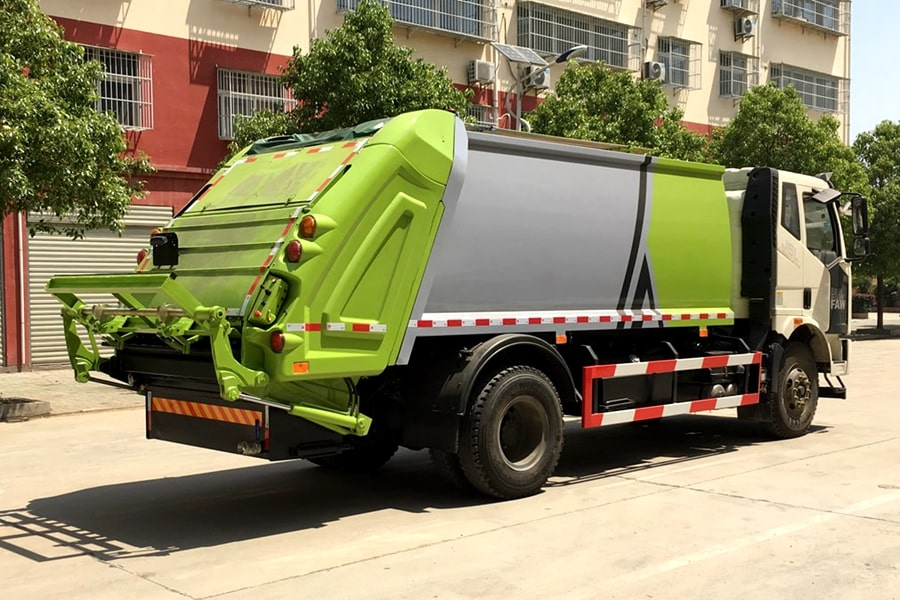 Waste Industries Truck Pictures