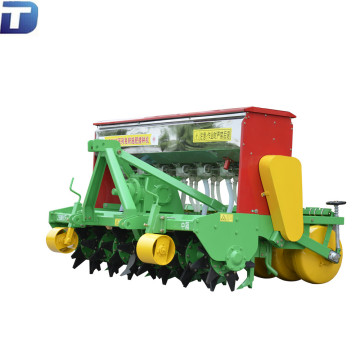 Agricultural no-till fertilizing wheat seeding machine