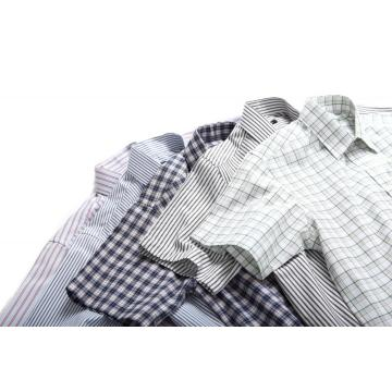 MEN'S WOVEN YARN DYE SHIRTS